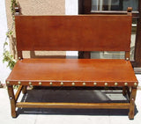 spanish bench, santa barbara style furniture