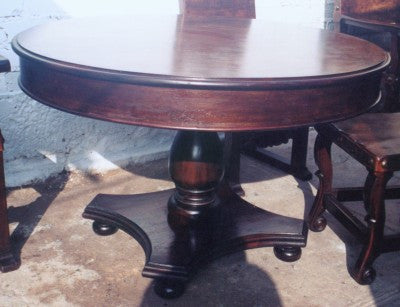 Colonial Dining Table, Round