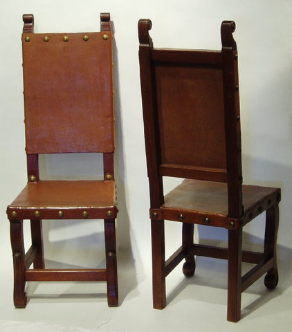 Spanish Colonial Chair, Chestnut