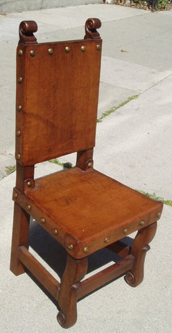 spanish colonial childrens chair