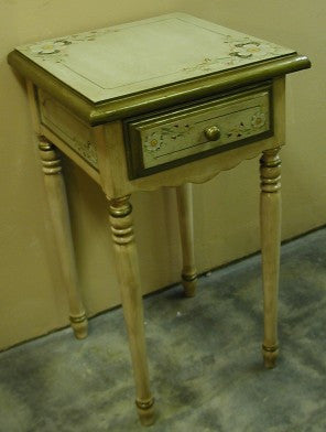 End Table, French Country