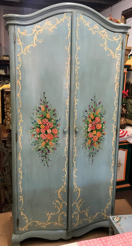 French Scroll Armoire