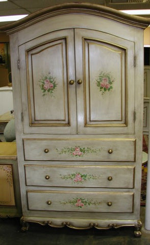 Armoire, French Roses