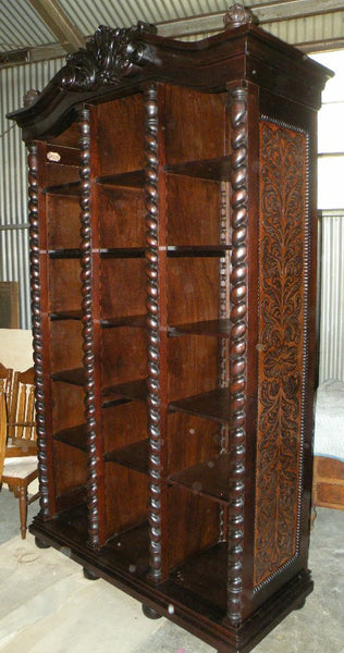 Old World Tuscan Bookcase Isabellina Design R Furniture
