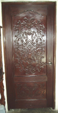 Leather Panel Door