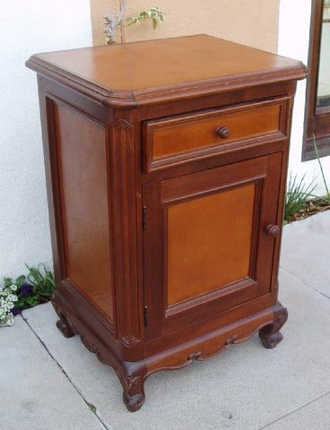 Leather Nightstand