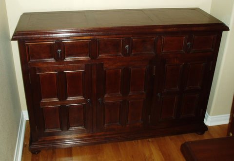 Leather Panel Buffet
