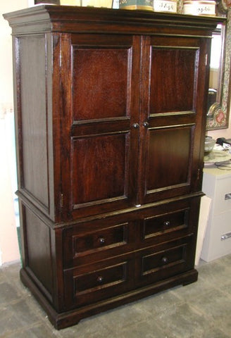 TV Armoire in Mahogany finish