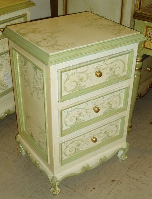 French Scrolls Nightstand