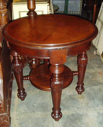 Palermo Leather Side Table