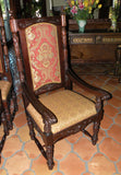 castle dining chair, spanish revival chair