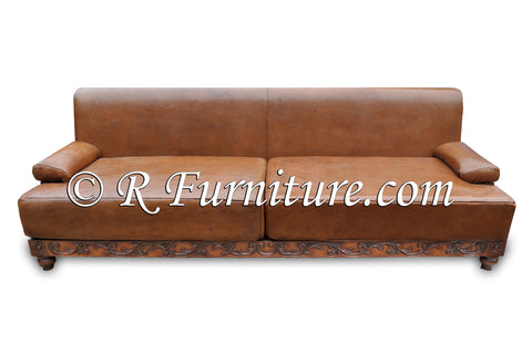 Leather Santa Barbara Modern Sofa