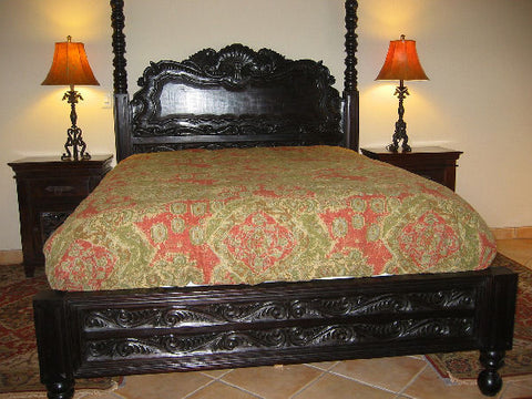 Spanish Colonial Bed