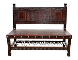 Spanish Colonial Bench - Ayacucho design