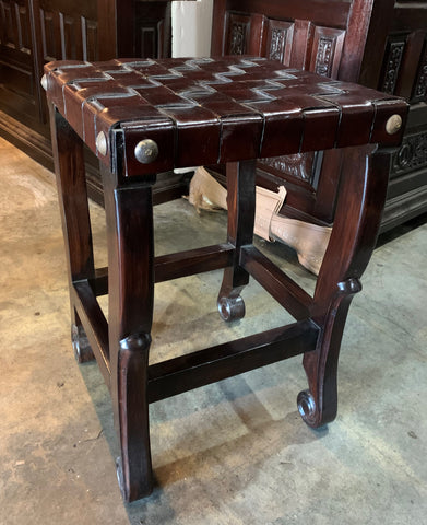 spanish colonial counter stool