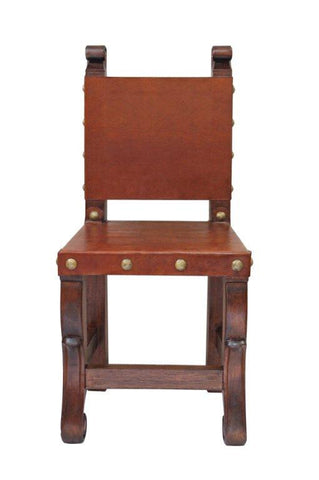 Spanish colonial kitchen side chair