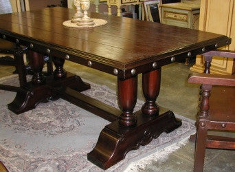 Balustrade Dining Table - Made in Peru