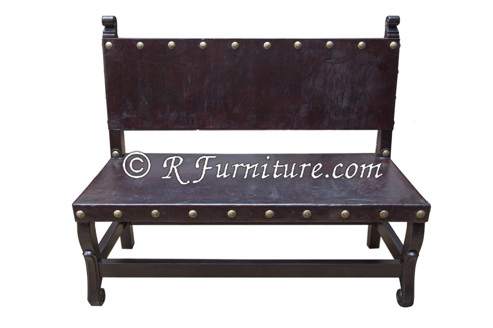 ... Spanish Colonial Bench ...