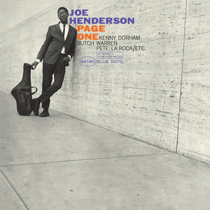 Joe Henderson-Page One