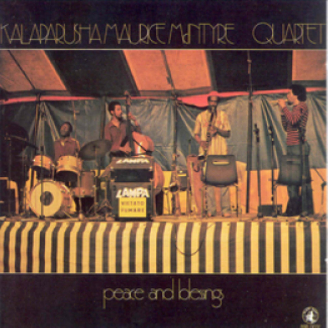 Kalaparush Maurice Mcintyre Quartet-Peace And Blessings