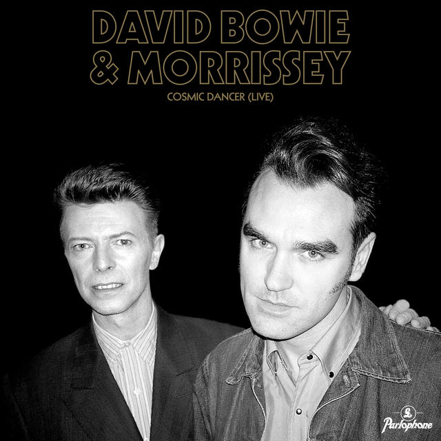 David Bowie & Morrissey - Cosmic Dancer (Live) 7