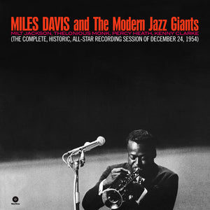 Miles & The Modern Jazz Davis-Complete, Historic, All-Star Reconding Session Of December 24 1954