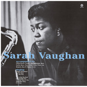 Sarah Vaughan-With Clifford Brown