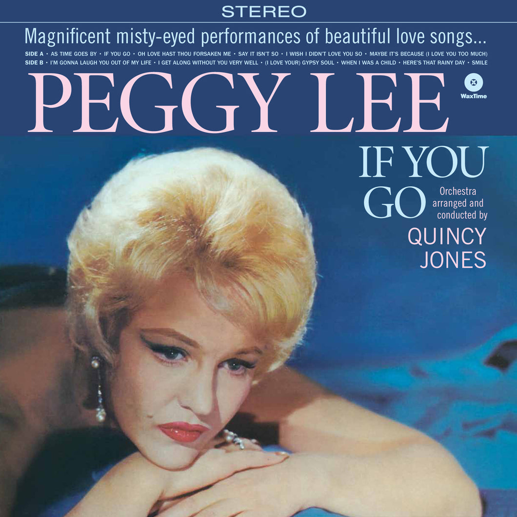 Lee, Peggy & Jones, Quincy-If You Go + 2 Bonus Tracks