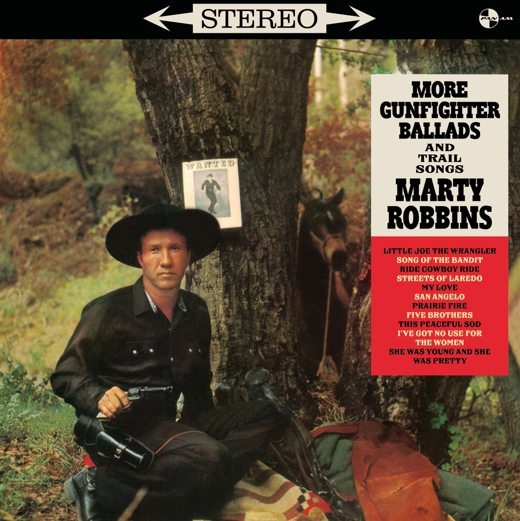 Marty Robbins-More Gunfighter Ballads And Trail Songs + 4 Bonus Tracks