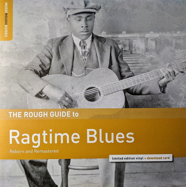 COMPILATION  ROUGH GUIDE TO RAGTIME BLUES (LP) (DWNLD CARD + EXTRA MUSIC)