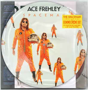 Ace Frehley - Spaceman PD with Poster