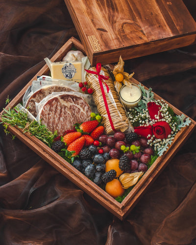 The Christmas Carnivore - A Premium Steak, Cheese, and Fruit Gift | make hay, sunshine!.