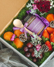 Load image into Gallery viewer, A Rose or Two (Festive Edition) - A Body Scrub & Fruit Gift Box | make hay, sunshine!.