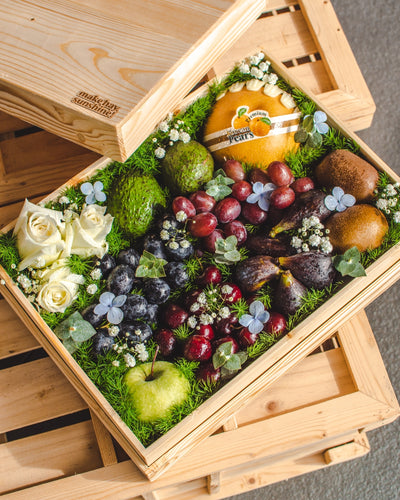 The Condolence Box - A Premium Keepsake Wooden Fruit Box | make hay, sunshine!.