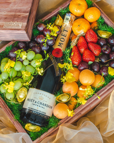Royal Prosperity with Moët & Chandon - The Chinese New Year Collection | make hay, sunshine!.