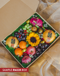 Custom Fruit Gift Box (CNY Edition) - The Chinese New Year Collection | make hay, sunshine!.