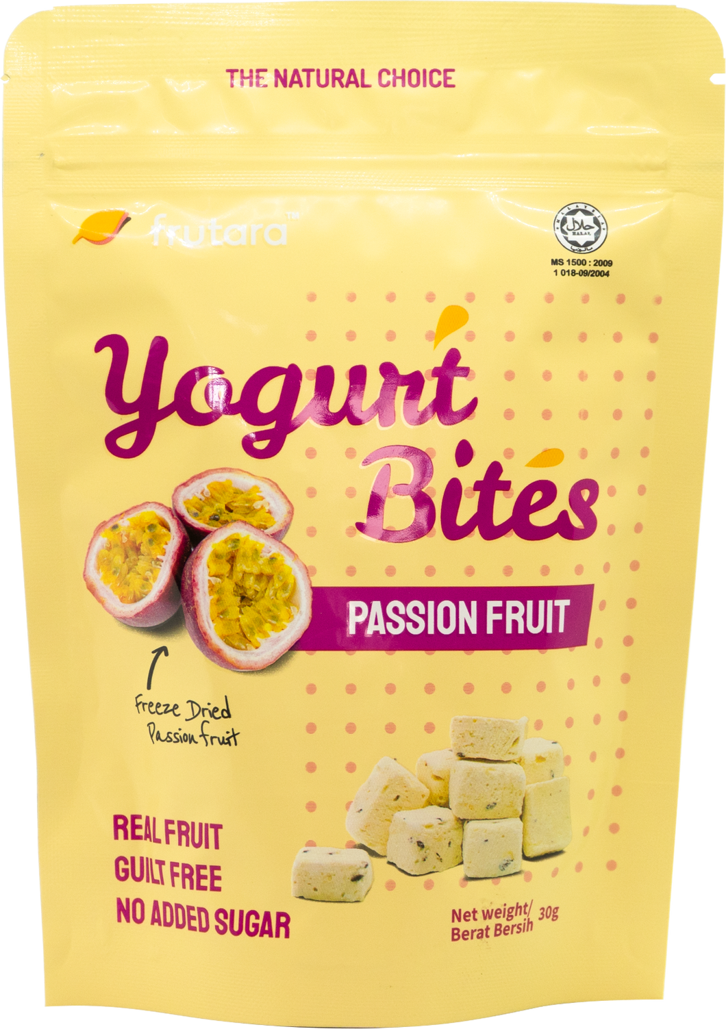 Yogurt Bites - Passion Fruit (30g) Frutara