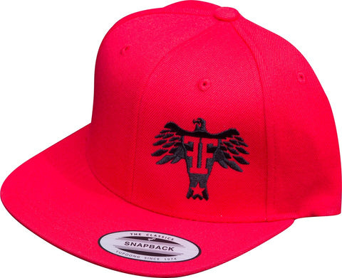 Black on Red eagle snapback - Freedom Felons - 2. This is the red on black eagle #snapback hat by #FreedomFelons #AntiEstablishment #Urban #Street #Major #Sports #MMA #UFC #Skate #WorldWide #USA #cali #nyc #Tattoo #Music #HipHop #Major #Australia #Europe #Canada #Lifestyle #Original #Brand #Freedom #Felons #WouldYouBeAFelonForYourFreedom