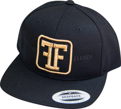 Black Freedom Felons Hat - Gold Logo - Freedom Felons. This is the Gold on black Logo #Snapback  by #FreedomFelons #AntiEstablishment #Urban #Street #major #Music #Skate #Hiphop #mma #ufc #Ufcfightpass #Celebrity #Trending #Sports #Lifestyle #Original #Brand  #WouldYouBeAFelonForYourFreedom