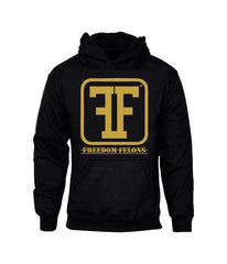 Gold on black #Hoody #Sweatshirt by  #FreedomFelons #AntiEstablishment #Urban #Street #major #Music #Celebrity #trending #cali #nyc #worldwide #represent #young #crooks #famous #world #streetwear #hiphop #fashion #Skate #Sports #Lifestyle #Original #Brand #WorldWide #WouldYouBeAFelonForYourFreedom
