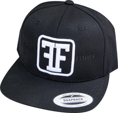 Black Freedom Felons Hat - White Logo - Freedom Felons - 2. This is the White on black Logo #Snapback #Hat by #FreedomFelons #AntiEstablishment #Urban #Street #major #Music #Skate #Cali #nyc #worldwide #Tattoo #Celebrity #Trending #ufc #mma #hiphop #Sports #Lifestyle #Original #Brand  #WouldYouBeAFelonForYourFreedom