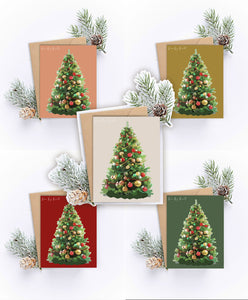 5 Pack of Christmas Cards
