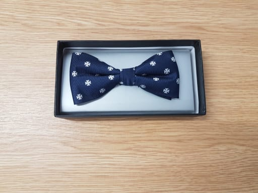 Boxed Silk Bow Tie