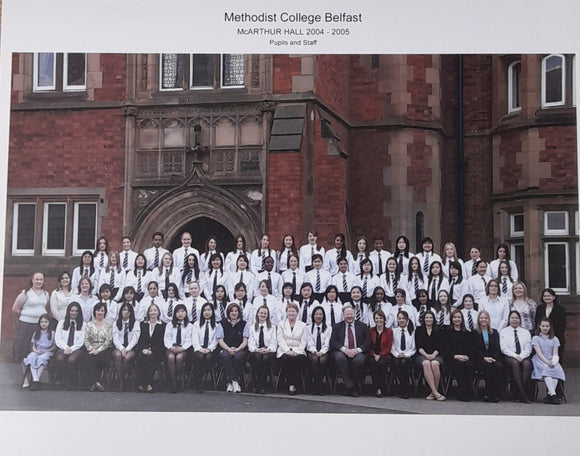 McArthur Hall Pupils and Staff 2004-05