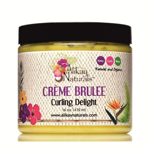 Alikay Naturals Crème Brulee Curling Delight – Stylingový custard 236 ml