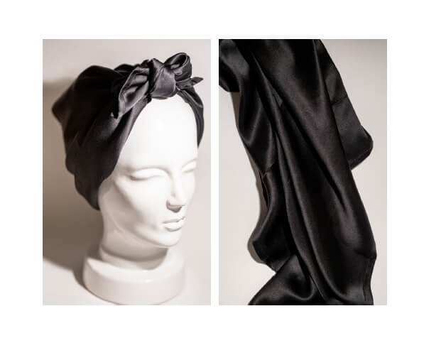 HER Mulberry Silk Head Scarf
