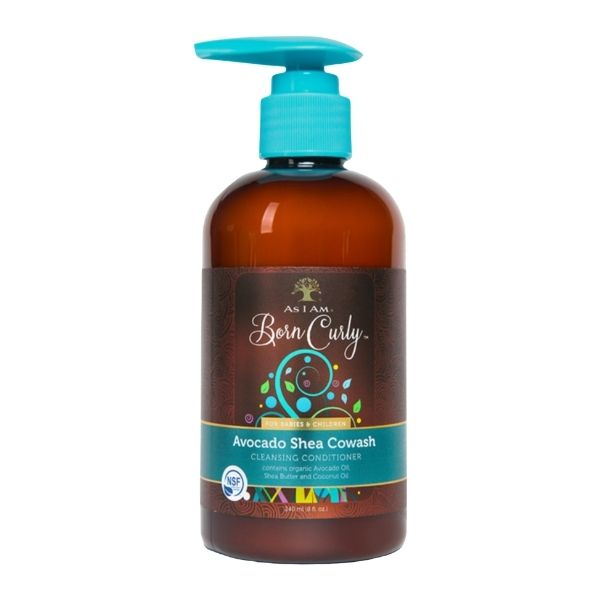 As I Am Born Curly Avocado Shea Cowash – Cowash na dětské kudrny 240 ml