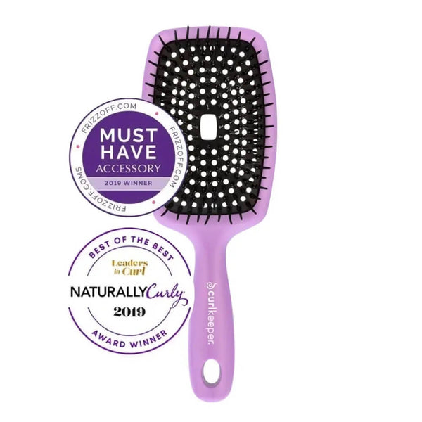 Curl Keeper Flexy Brush Purple