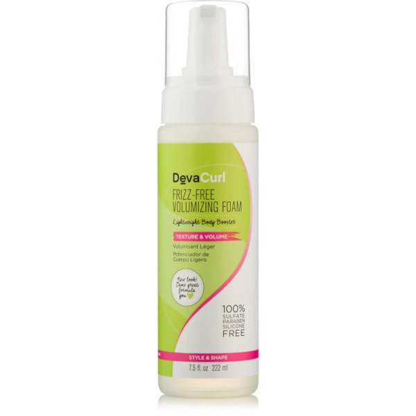 DevaCurl Frizz-Free Volumizing Foam – Stylingová pěna 222 ml