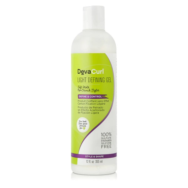 DevaCurl Light Defining Gel – Jemně tužící gel 355 ml